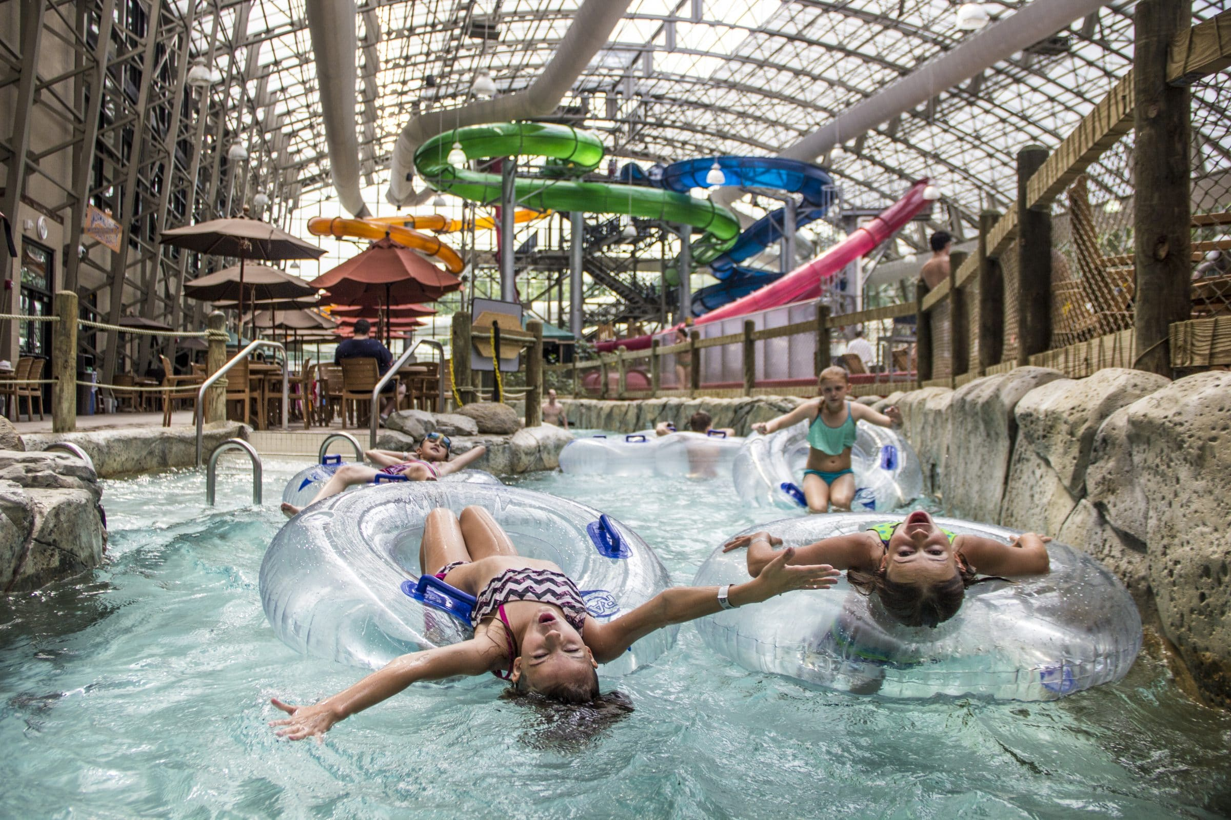 Waterpark Indoor Air Quality in Times of COVID