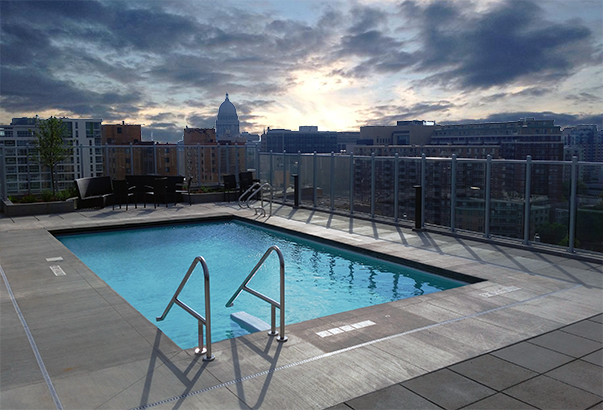 What's Up With Rooftop Pools?
